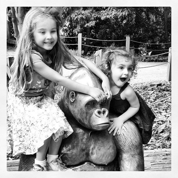 Big and Little, at the Philadelphia Zoo, a few years back