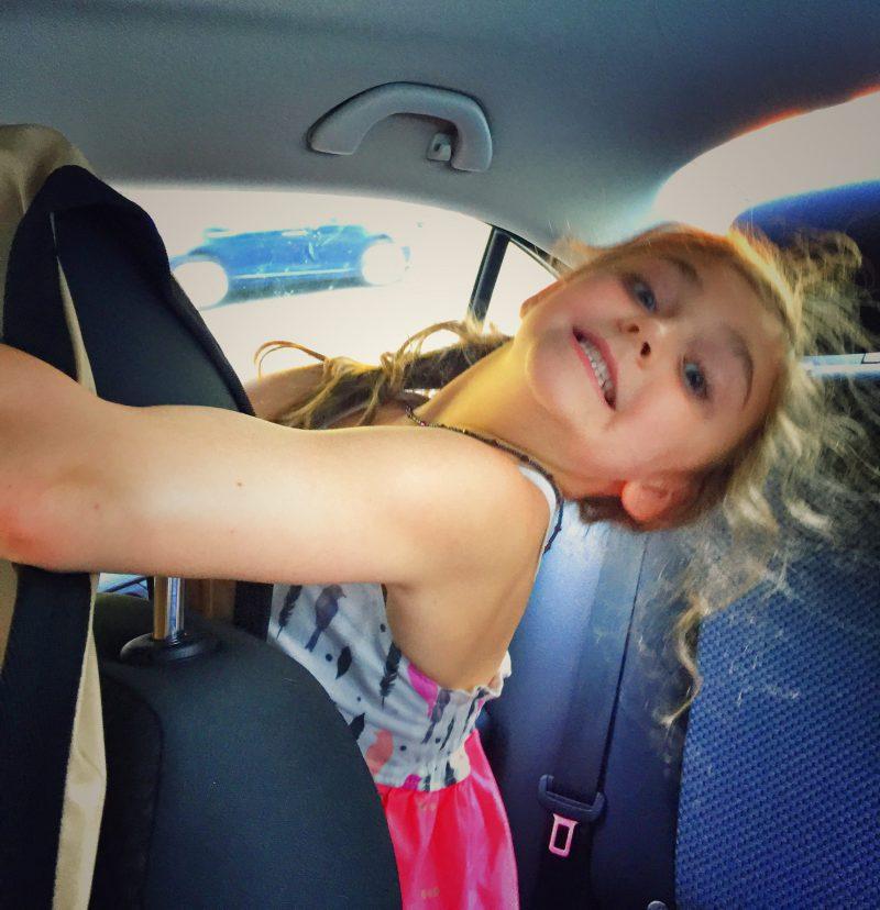 little in car